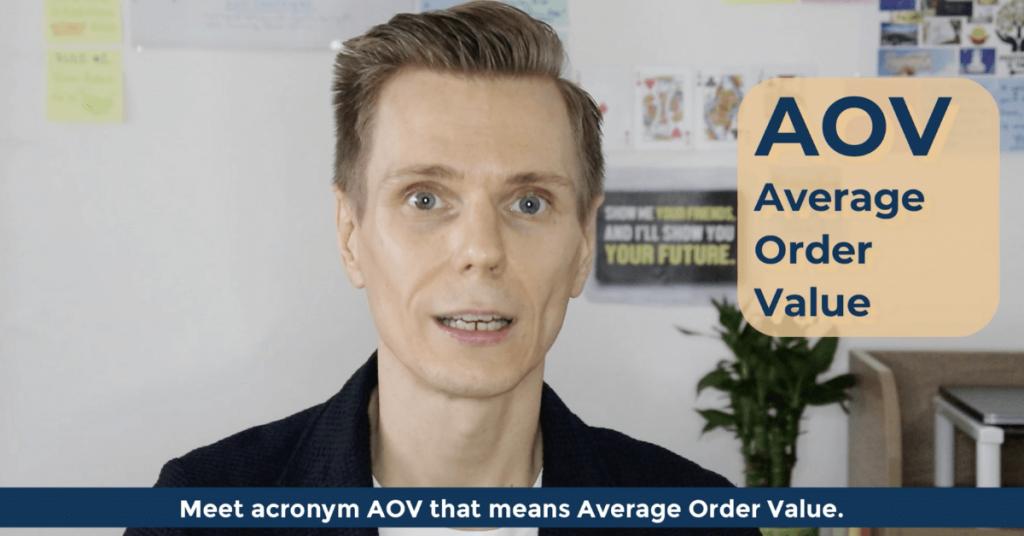 SEO Acronyms AOV Average Order Value