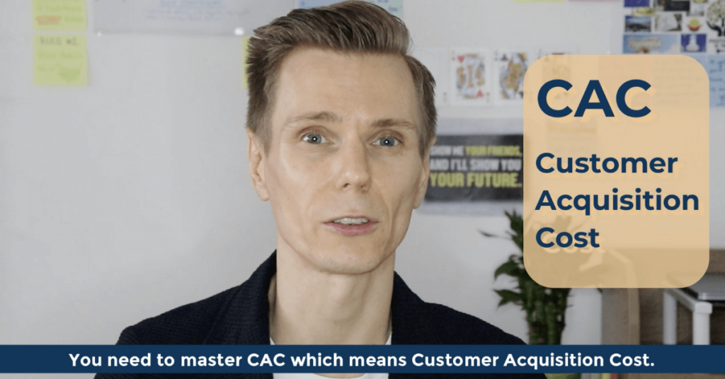 SEO Acronyms CAC Customer Acquisition Cost