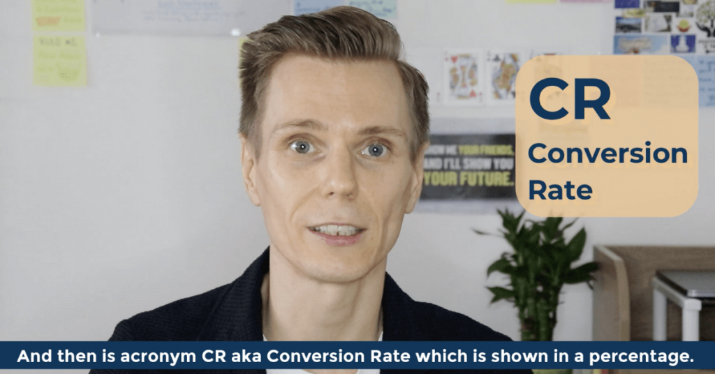 CR Conversion Rate