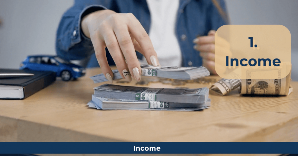 Personal Finance Terms - Income