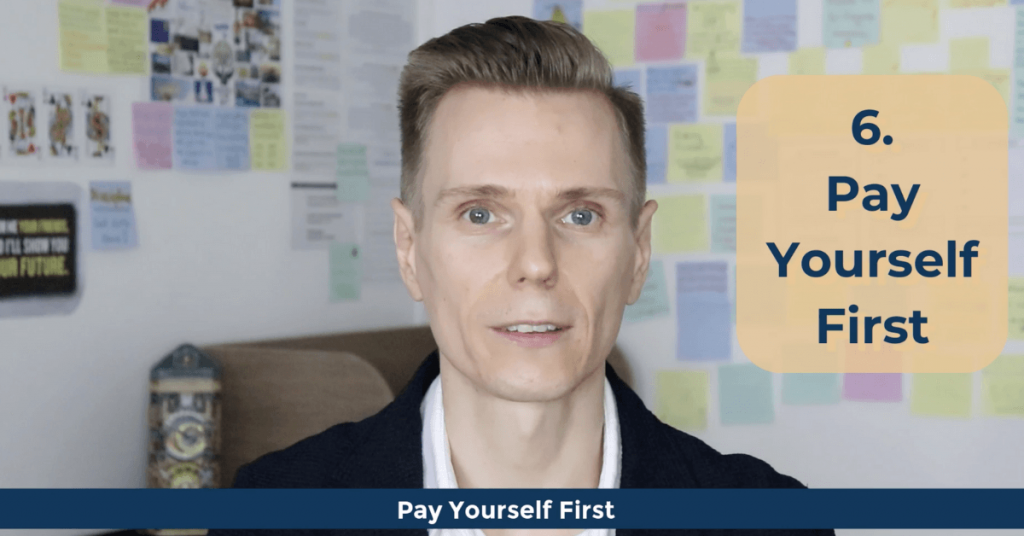 Personal Finance Terms - Pay Yourself First