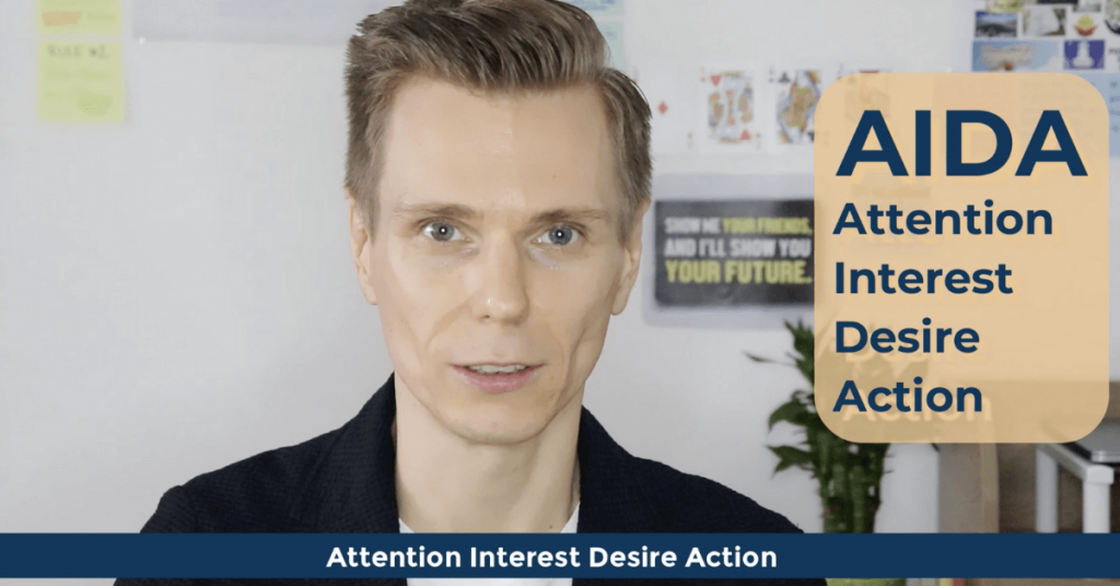 SEO Acronyms AIDA Attention Interest Desire Action