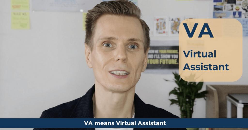 SEO Acronyms VA Virtual Assistant