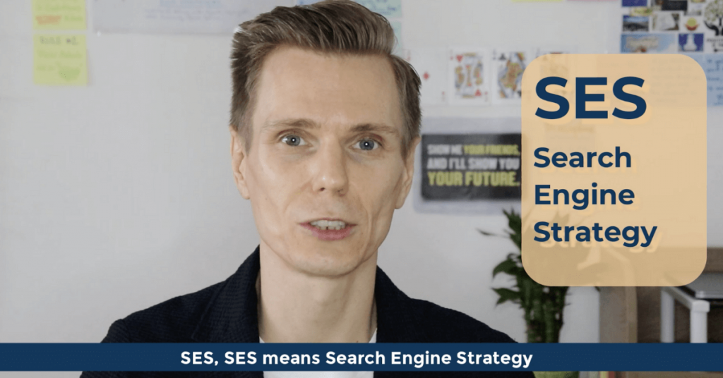 SEO Acronyms SES Search Engine Strategy