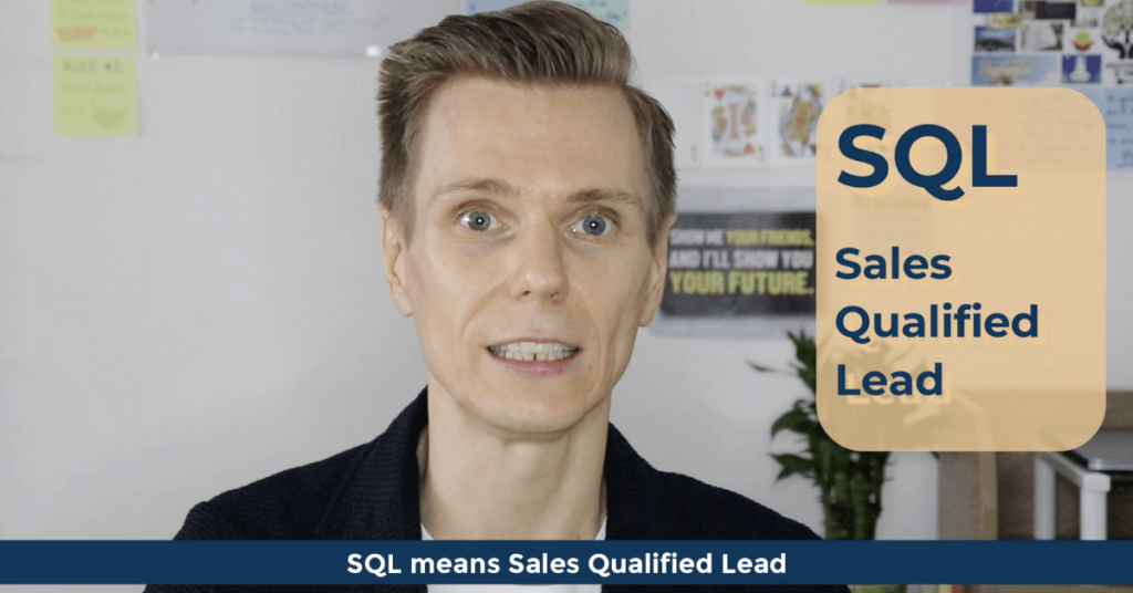 SEO Acronyms SQL Sales Qualified Lead