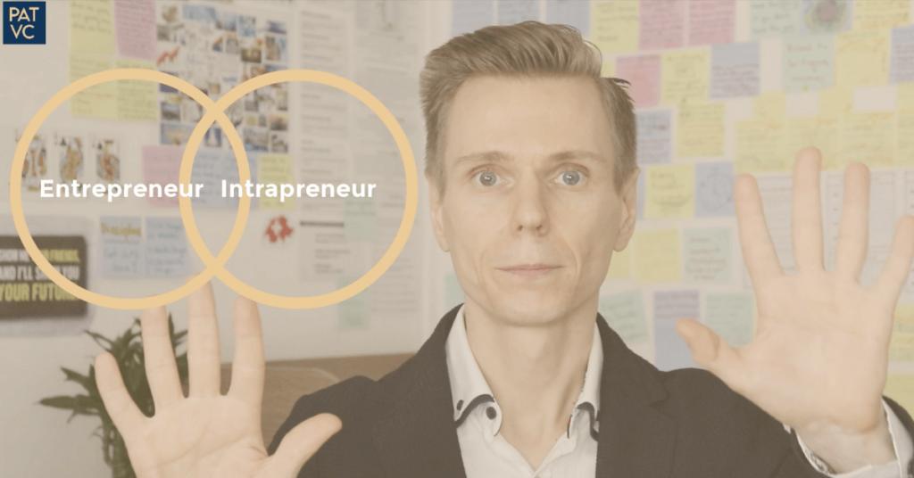 The relationship between intrapreneurship and entrepreneurship