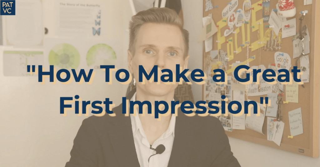 How To Win Friends and Influence People - How To Make a Great First Impression