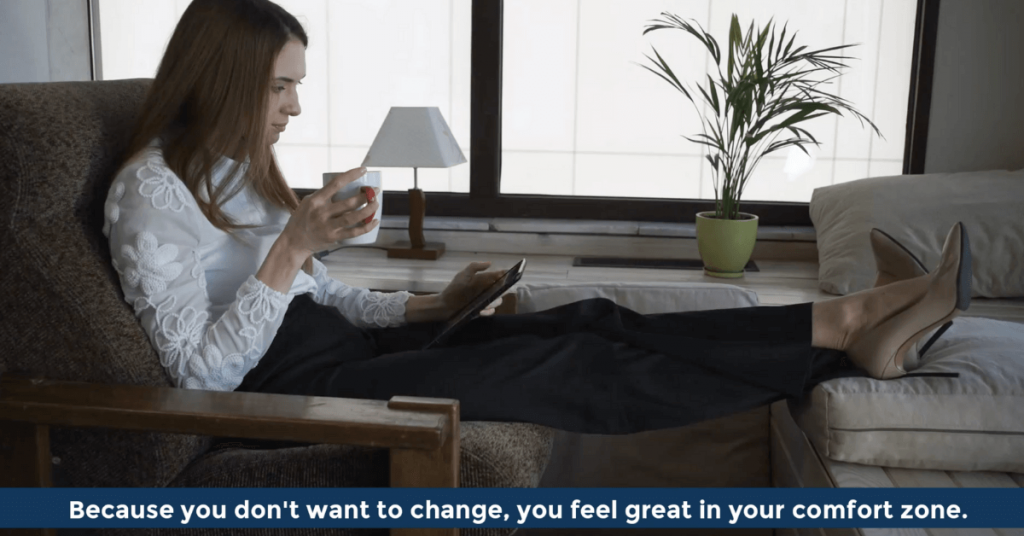 Pat VC - You feel great in your comfort zone