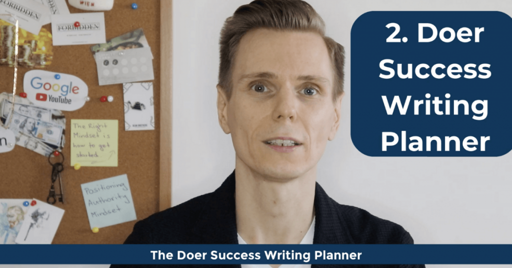 How To Become a Doer - The Doer Success Writing Planner