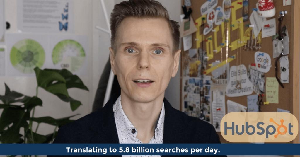 Pat VC - Google processes approximately 5.8 billion searches per day