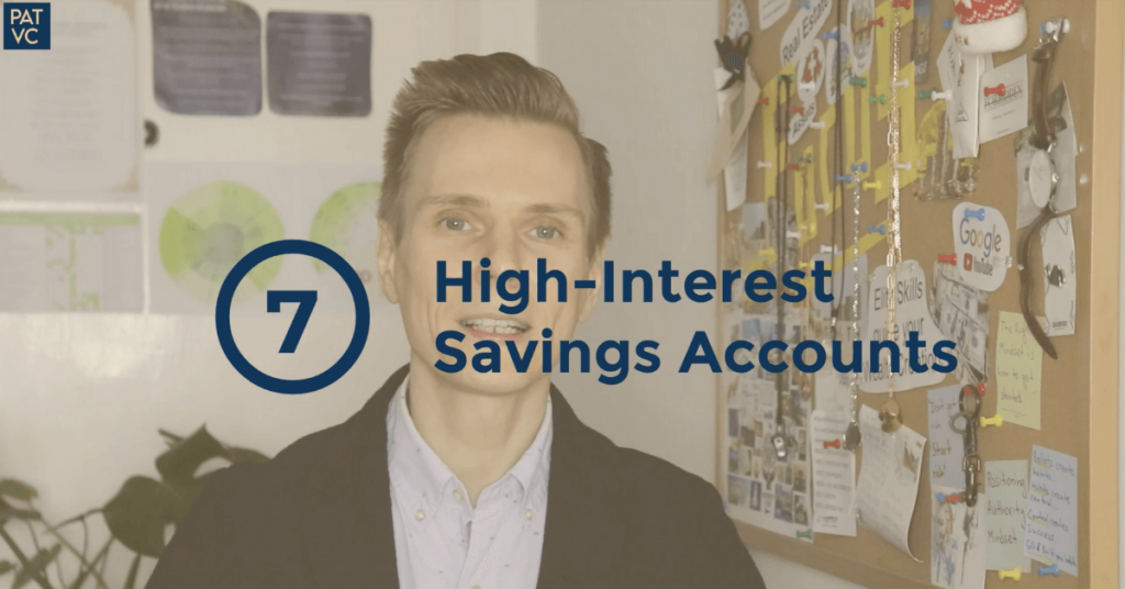 Compound Interest Investments - High-Interest Savings Accounts