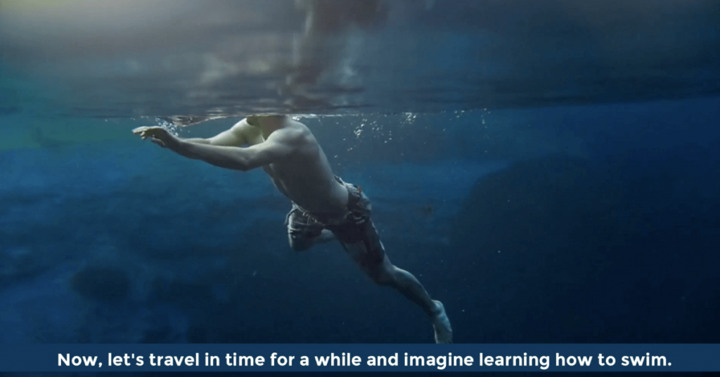 Pat VC - Imagine learning how to swim