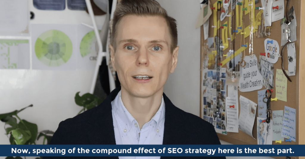 Speaking of the compound effect of SEO strategy here is the best part