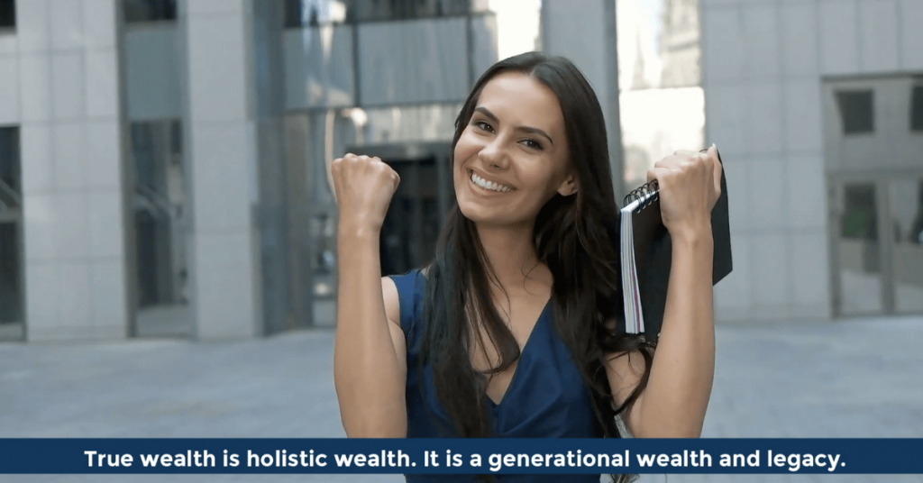 Pat VC - True wealth is holistic wealth - Respect other peoples time