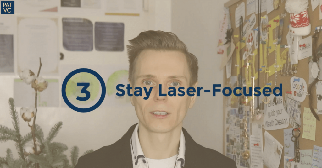 Personal strengths - Stay laser-focused