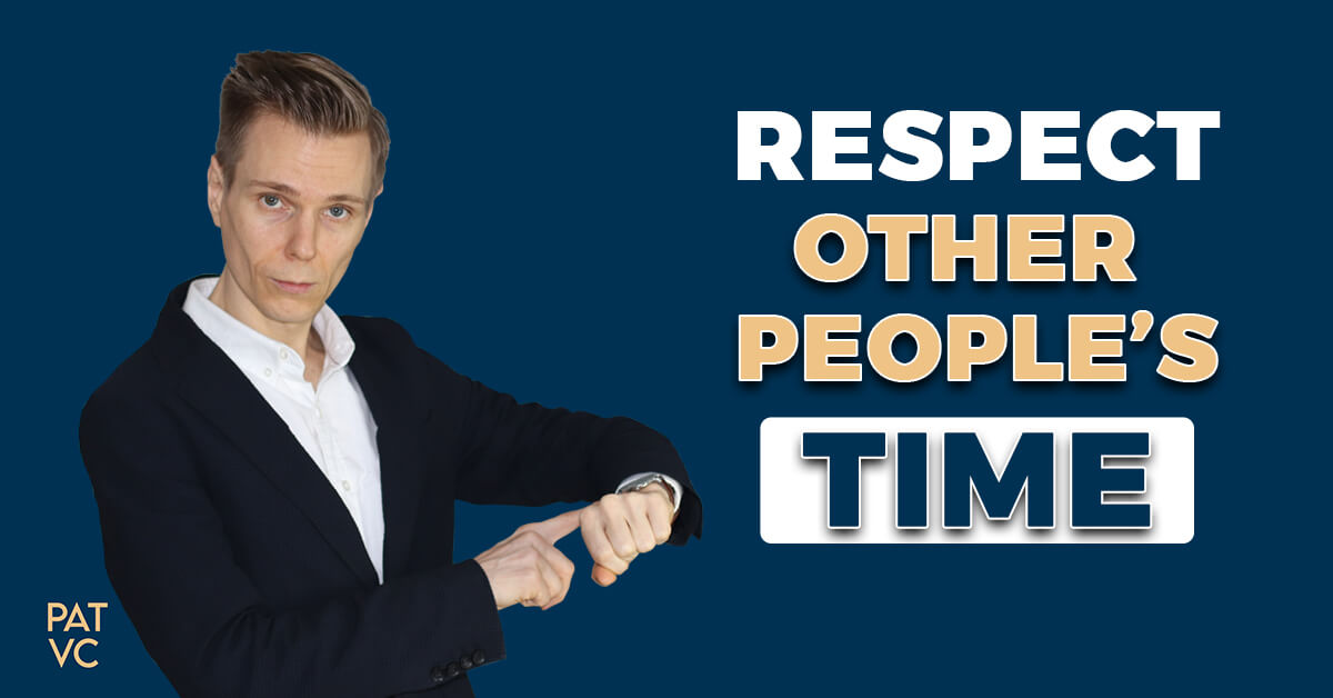 Respect Other People's Time - The Second Doer Leverage Strategy