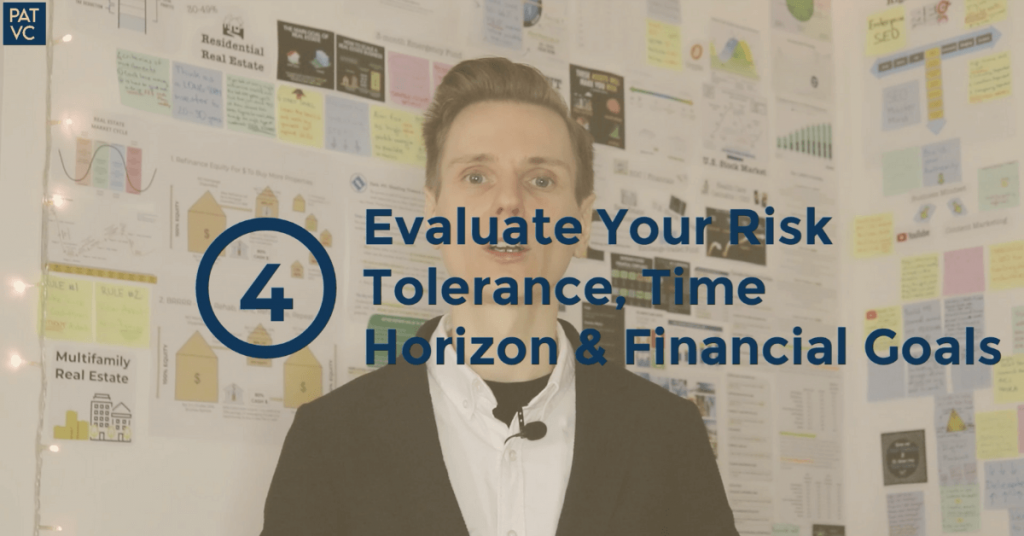 Before You Invest - Evaluate Your Risk Tolerance Time Horizon and Financial Goals