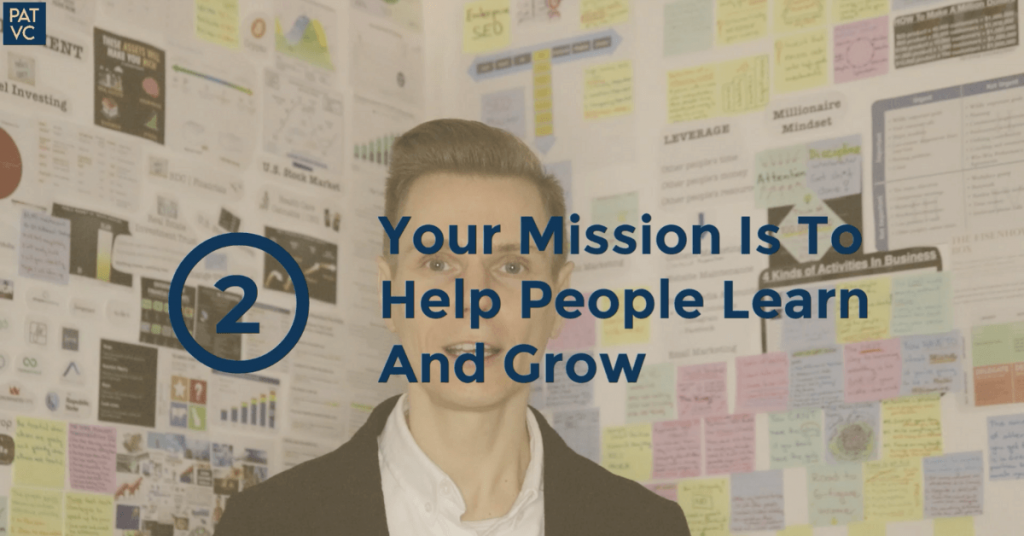 Other People's Problems - Your Mission Is To Help People Learn And Grow