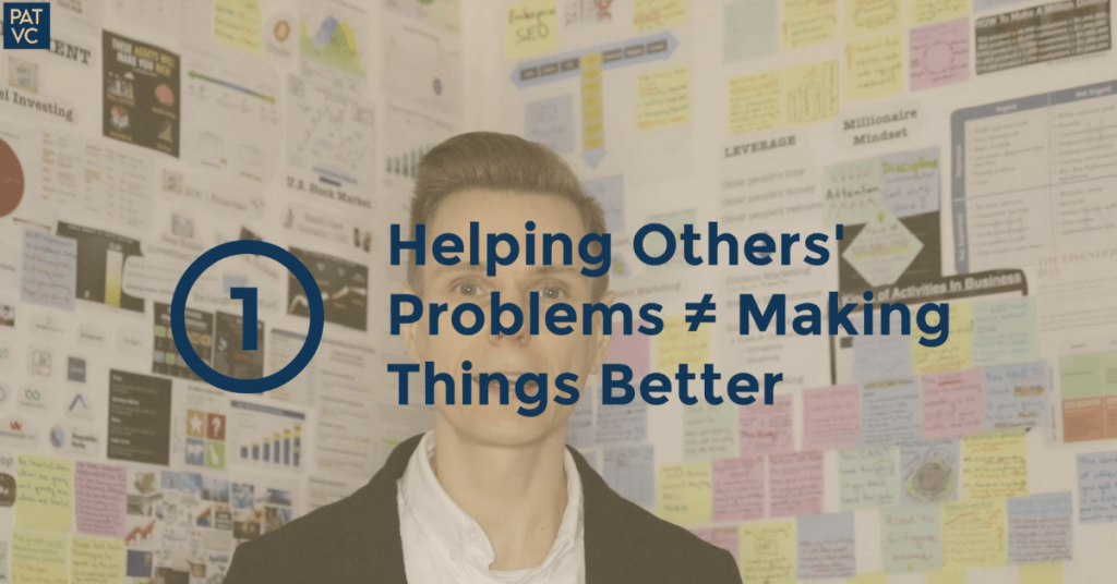 Sometimes Helping Other People's Problems Can't Make Things Better