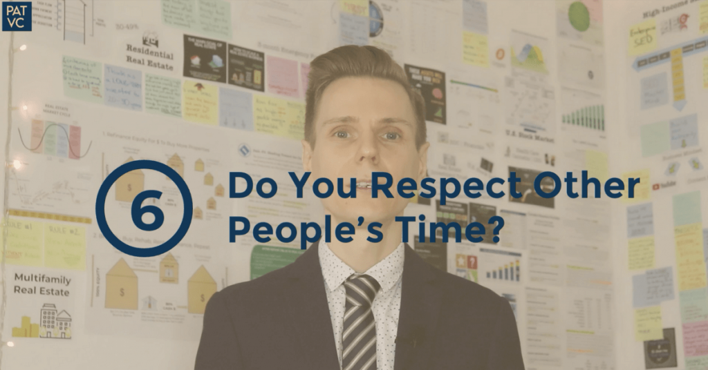Do You Respect Other People's Time?