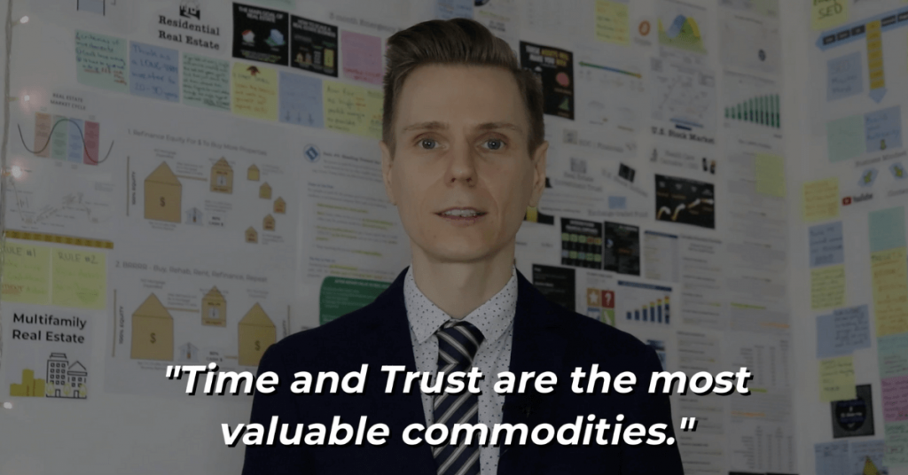 Pat VC - Time and trust are the most valuable commodities