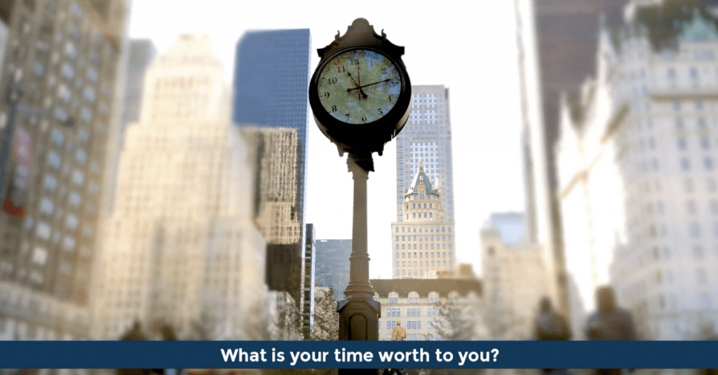 Pat VC - What is your time worth to you?