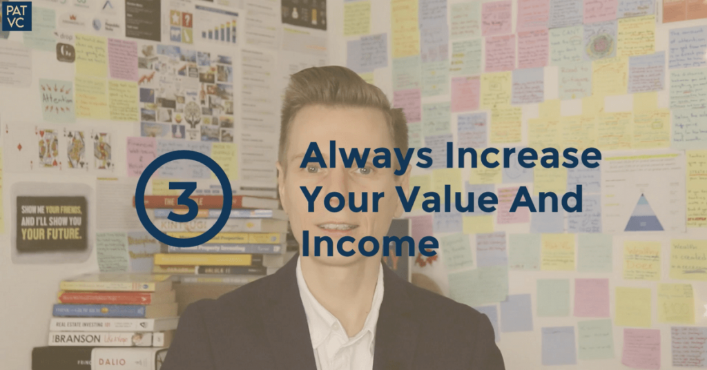 Always Increase Your Value And Income