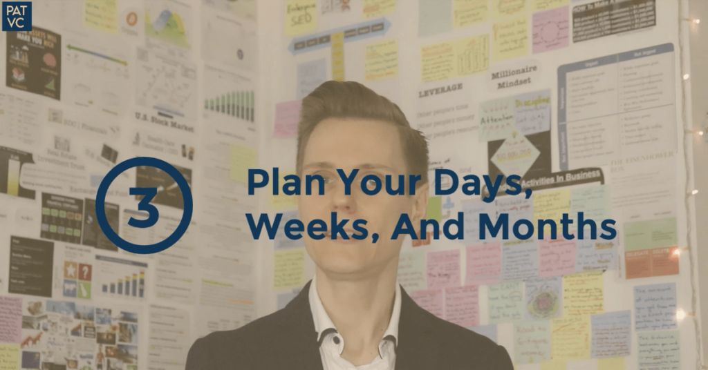 How To Get Motivated To Work - Plan Your Days Weeks And Months