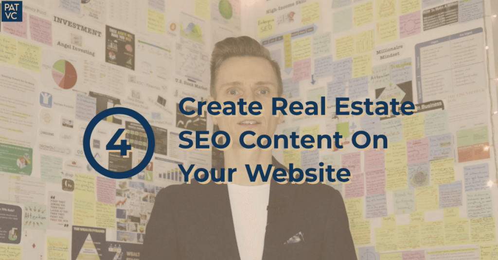 Create Real Estate SEO Content On Your Website