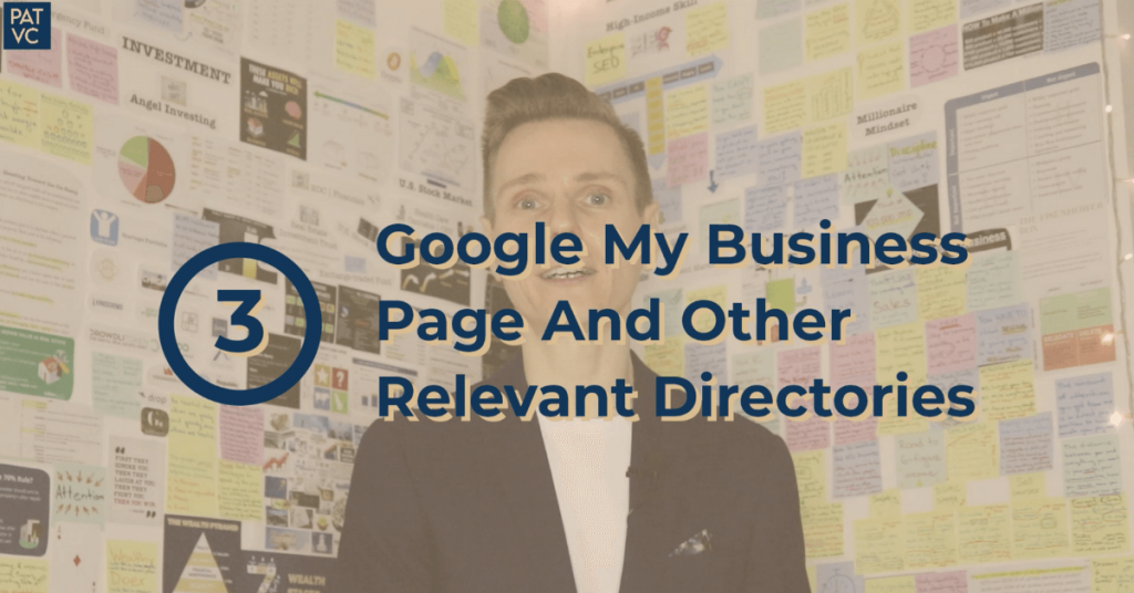 Real Estate SEO - Google My Business Page And Other Relevant Directories