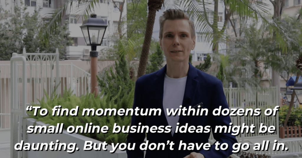 Pat VC - Choose one Small Online Business Idea