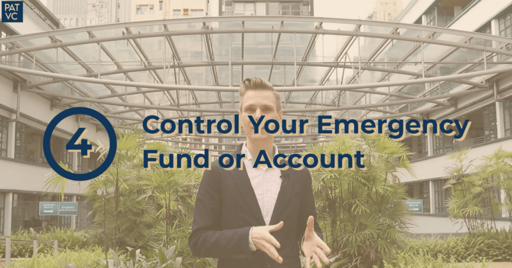 How To Save Money From Salary - Control Your Emergency Fund or Account