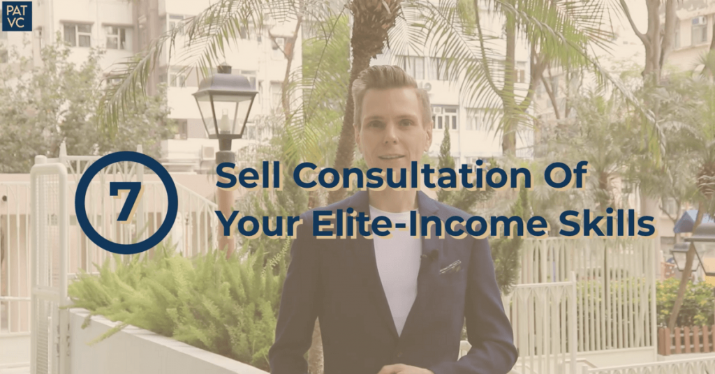 Sell Consultation Of Your Elite-Income Skills