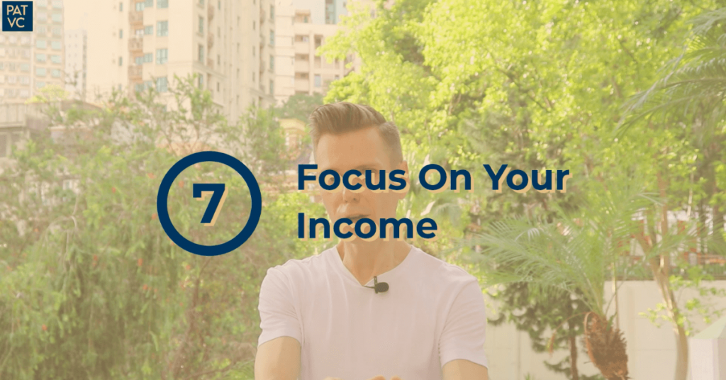 Financial Responsibility - Focus On Your Income
