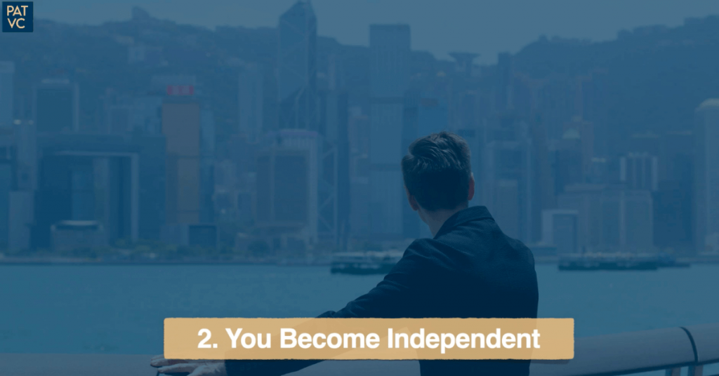 Living Abroad - You Become Independent