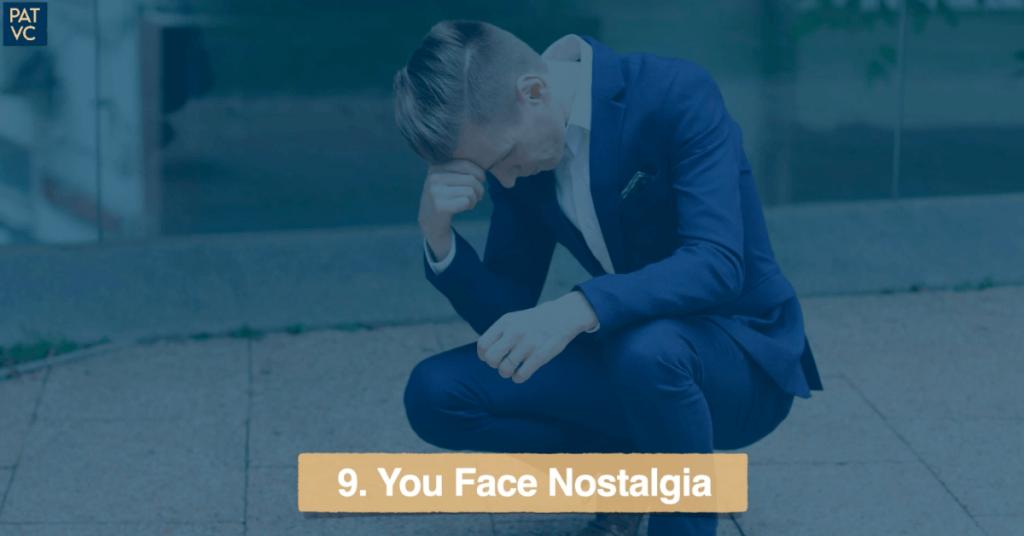 Living Abroad - You Face Nostalgia