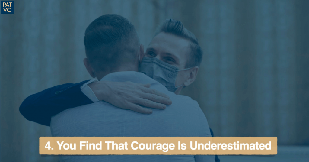 Living Abroad - You Find That Courage Is Underestimated