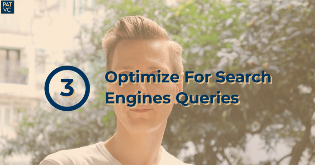 Optimize For Search Engines Queries