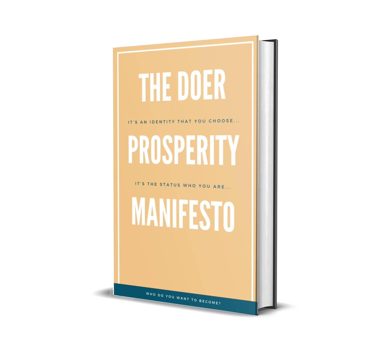 The Prosperity Doer Manifesto