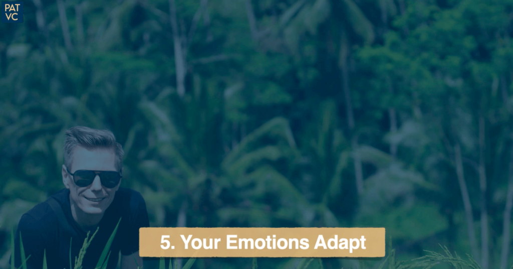 Your Emotions Adapt If You Are Living Abroad