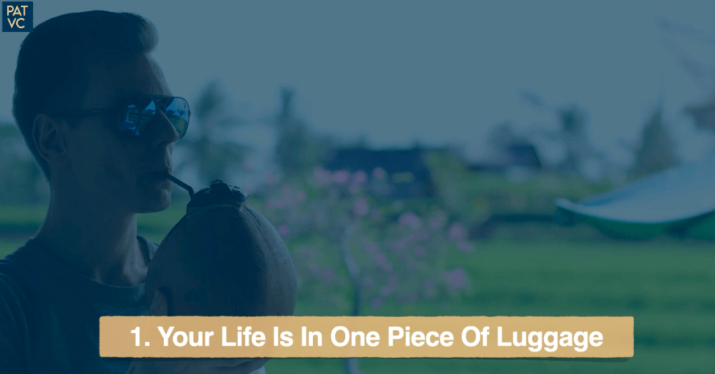 Your Life Is In One Piece Of Luggage While Living Abroad