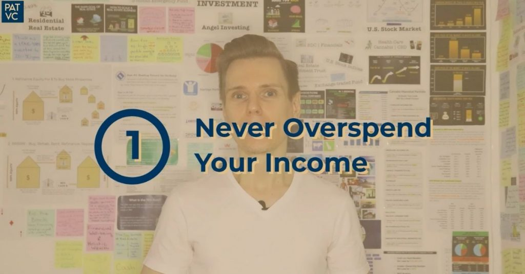 Never Overspend Your Income For Investment Success